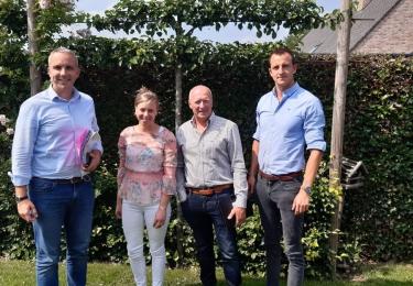 Landsbond Pluimvee ontvangt Europees parlementslid Tom Vandenkendelaere