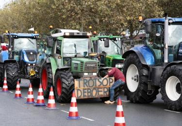 Onmacht stikstofdossier dwingt boer de straat op, of toch maar even niet?